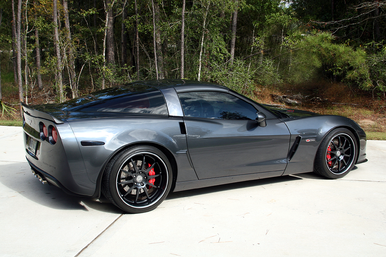 Roger's Corvette Center - Customer Reviews and Testimonials Cyber gray corvette pictures